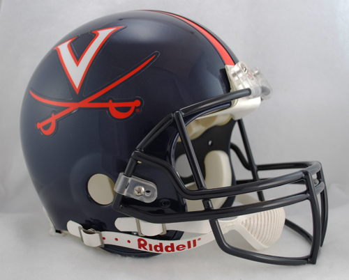 Virginia Cavaliers Full Size Authentic Riddell Proline Helmet